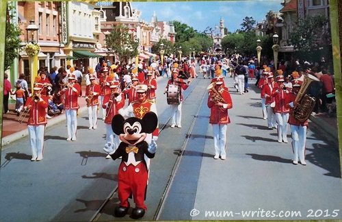 Walt Disney postcards, USA, Postcrossing.com
