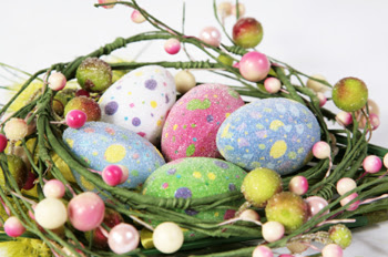 Easter decoration, Easter centrepiece