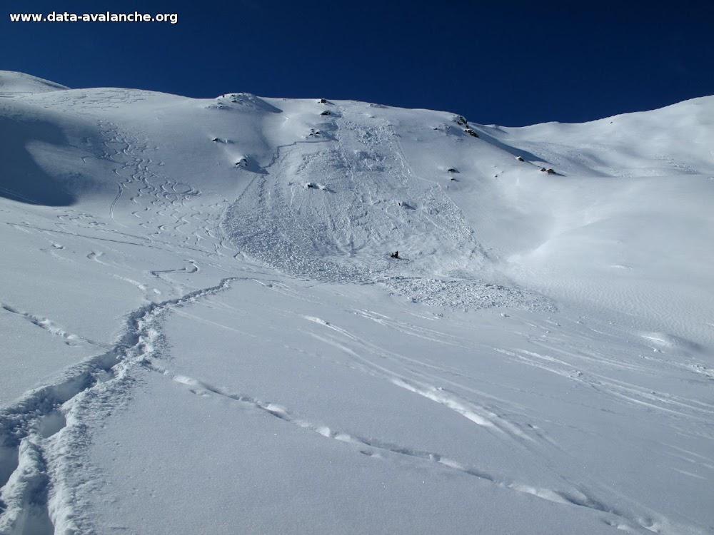 Avalanche Haute Tarentaise, secteur Pointe Nord des Lorès, Entre le Rocher du Mont Roup et la Croix du Pisset - Photo 1 - © Couloumy Sylvain
