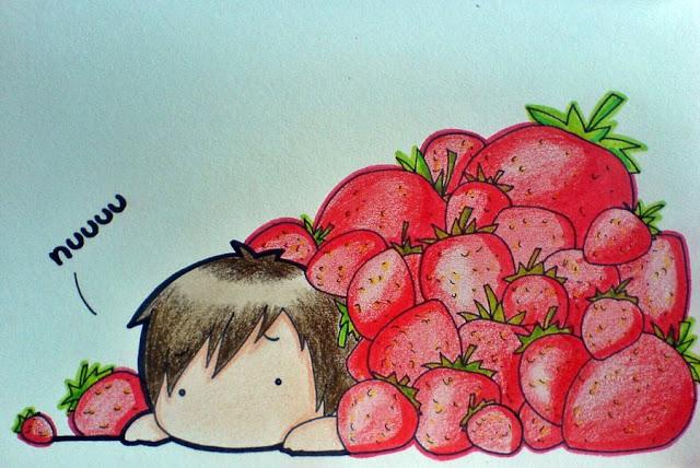 [Animation Pics] Owl City Chibi cực cute! StrawberryAvalanche