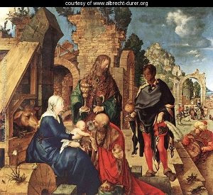 Adoration of the Magi, by Albrecht Dürer