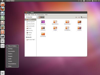 Unity 2D Ubuntu 11.10 Oneiric Ocelot screenshot