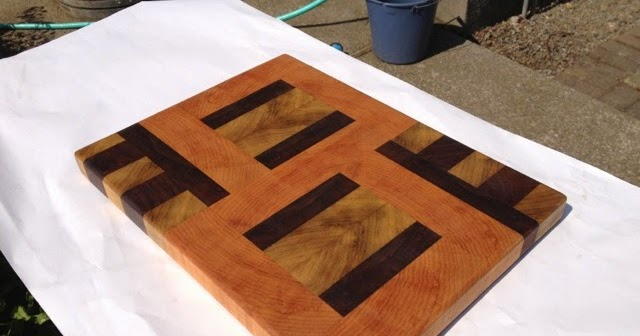 Pnw Flipside End Grain Cutting Board 95 With Us Shipping Included