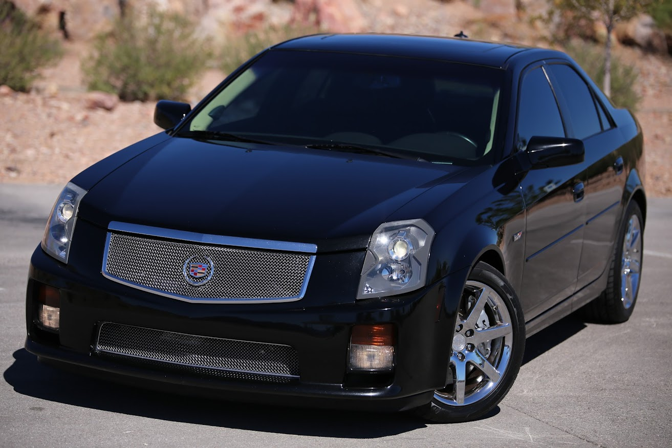 buy used one badass caddy 2004 cts v ls6 cammed long tube headers intake 450 hp see video in. Black Bedroom Furniture Sets. Home Design Ideas