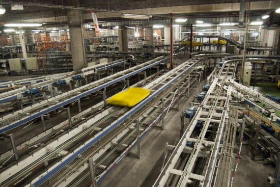 Ahorro energético en el manejo de los equipajes en el Aeropuerto de Madrid-Barajas