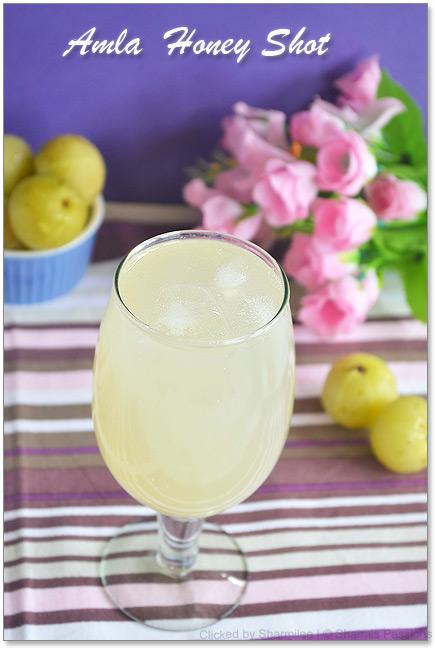 Amla Honey Shot Recipe