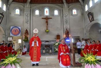 Trang sử mới của giáo xứ Hoàng Mai vàTam Điệp