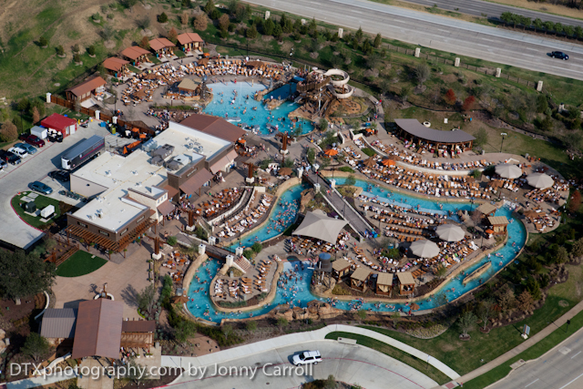 grapevine aerial photography