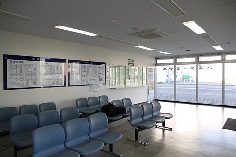 宗谷バス 稚内駅前ターミナル 待合室