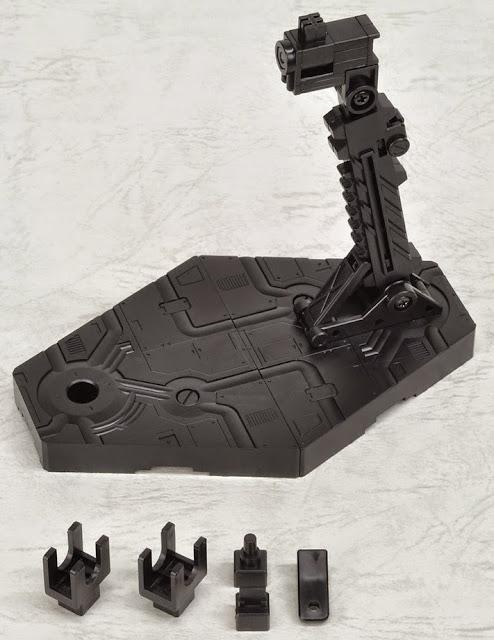Thành phần của Chân đế dựng mô hình Gundam Action Base 2 Black