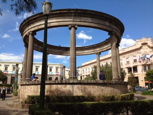 parque central, xela