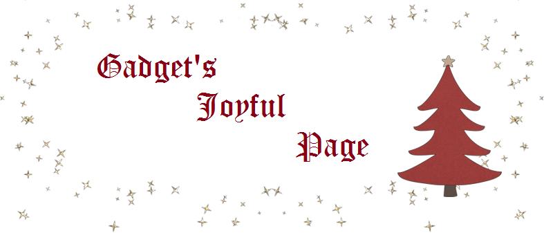 Gadget's Joyful Page