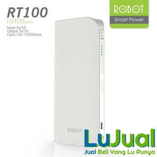 Tampilan Samping Putih - Robot RT100 | LuJual