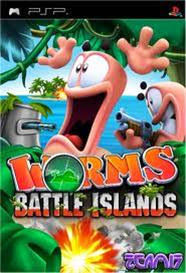 Worms Battle Islands   PSP