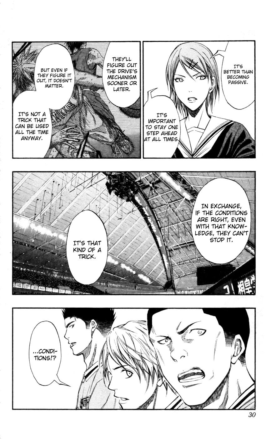 Kuroko no Basket Manga Chapter 119 - Image 4_030