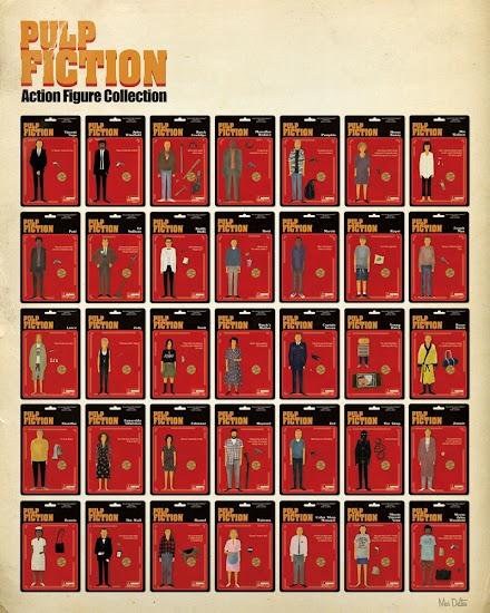 Maxim Dalton und das Pulp Fiction Poster (7 Bilder)