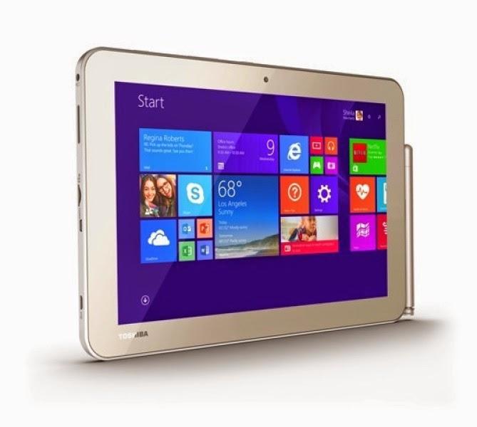 Tablet giá rẻ của Toshiba đi kèm bút cảm ứng Wacom - 59322