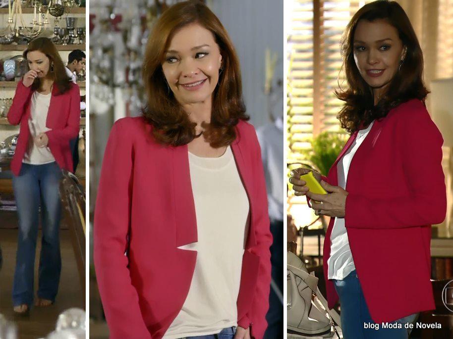 moda da novela Em Família - look da Helena dia 30 de abril