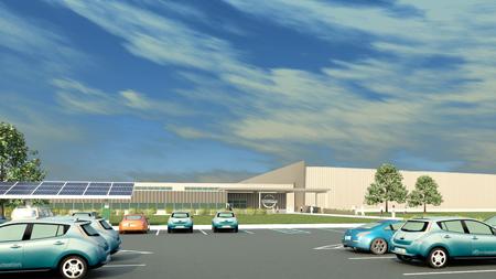 Nissan Leaf se Suma al Ahorro de Energía