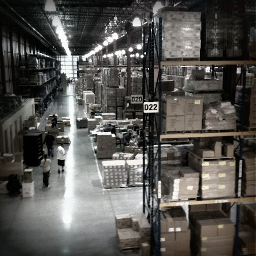 A single row of the National DCP, a supply chain cooperative owned by franchisees