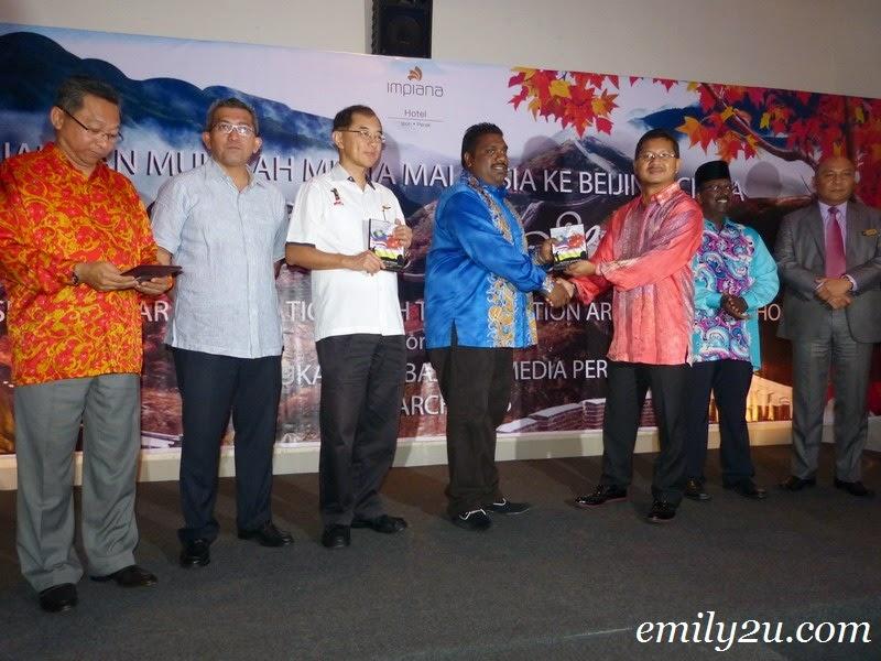 media friendship trip Malaysia and China