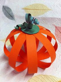 thanksgiving pumpkin décor photo