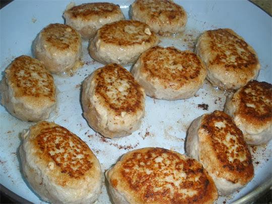 котлеты с грибами в духовке