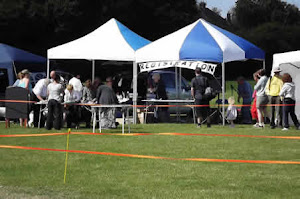 Use as large a sign as possible for your dog show - with dorsetdog.com