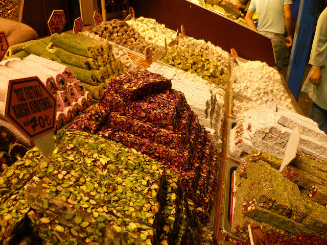 Turkish Delight at the Istanbul Spice Market