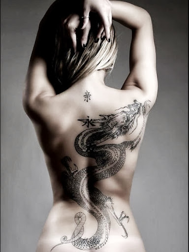 Beautiful Dragon Tattoo