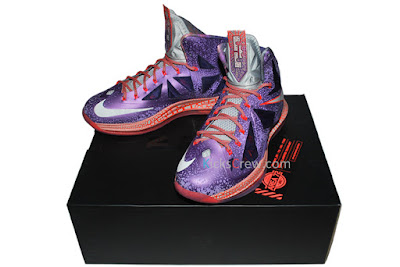 nike lebron 10 gr allstar galaxy 4 09 Nike Upgrades LEBRON X ALLSTAR Area 72 with $200 Price Tag