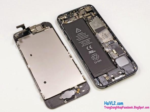 sửa màn hình iphone 5s khi bị hỏng