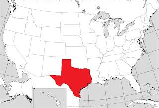 US States Texas