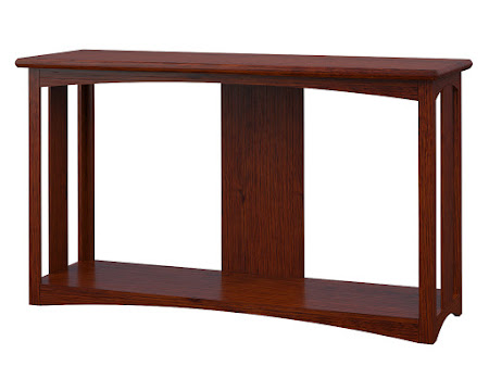 Haiku Sofa Table in Michigan Quarter Sawn Oak
