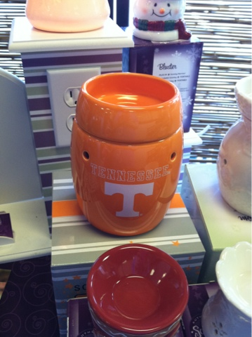 University of Tennessee TN UT Vols Scentsy Warmer