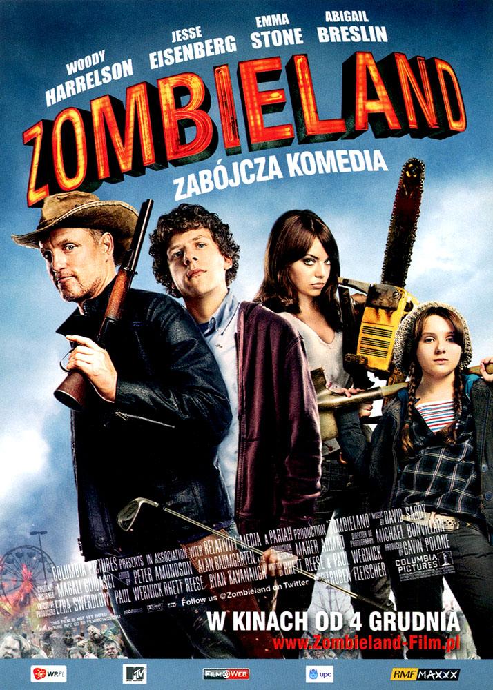 Ulotka filmu 'Zombieland (przód)'