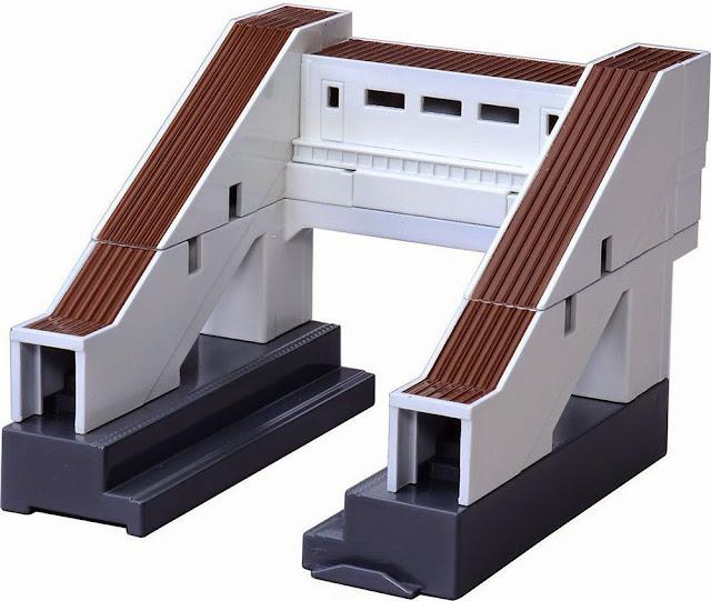 Mô hình AJ-03 Flyover Cầu vượt cho tầu hỏa nhỏ