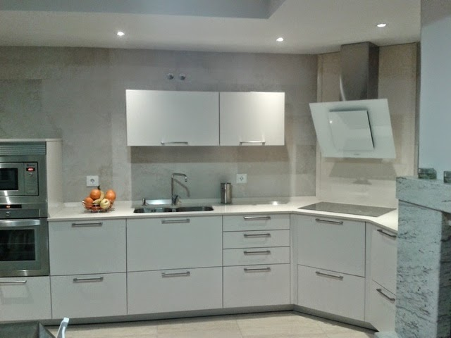 Lovik cocina moderna tienda de muebles de cocina desde - Muebles de cocina inox ...
