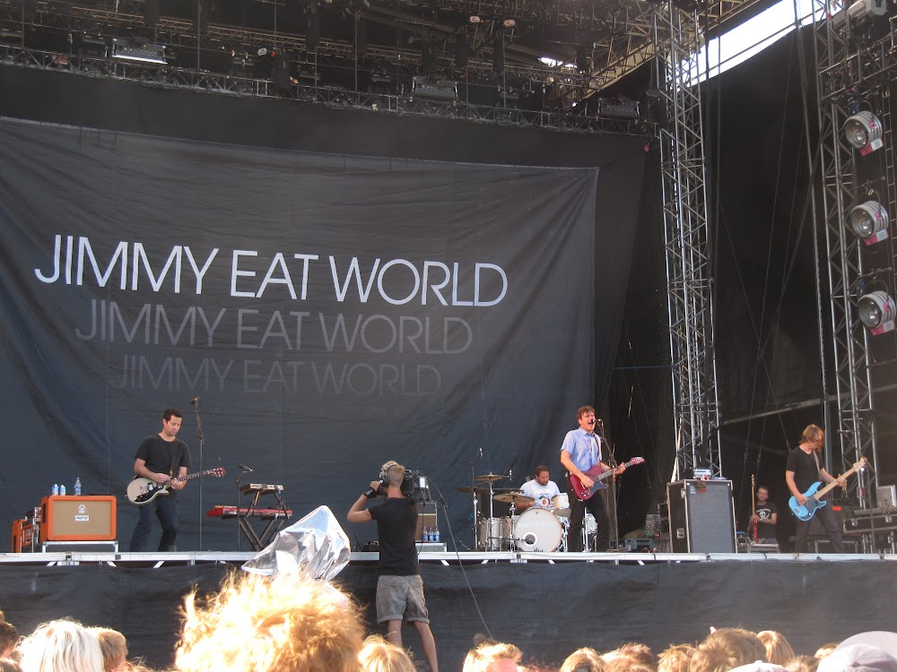 Jimmy Eat World at Peace and Love 2011