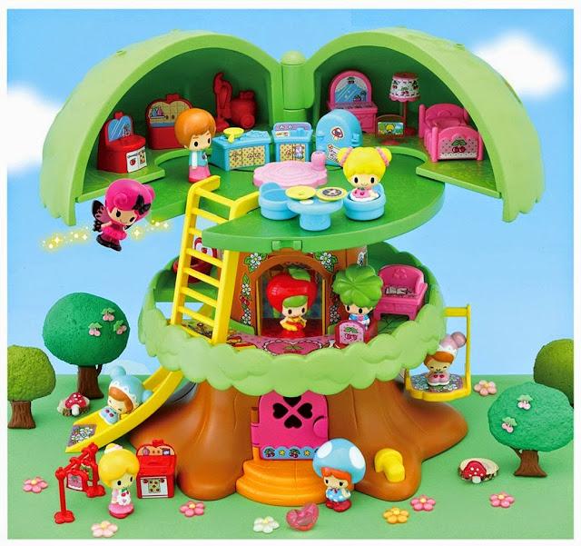 Ngồi nhà búp bê 3 tầng trên cây thiết kế đặc biệt, ngộ nghĩnh, phù hợp với các bạn nhỏ