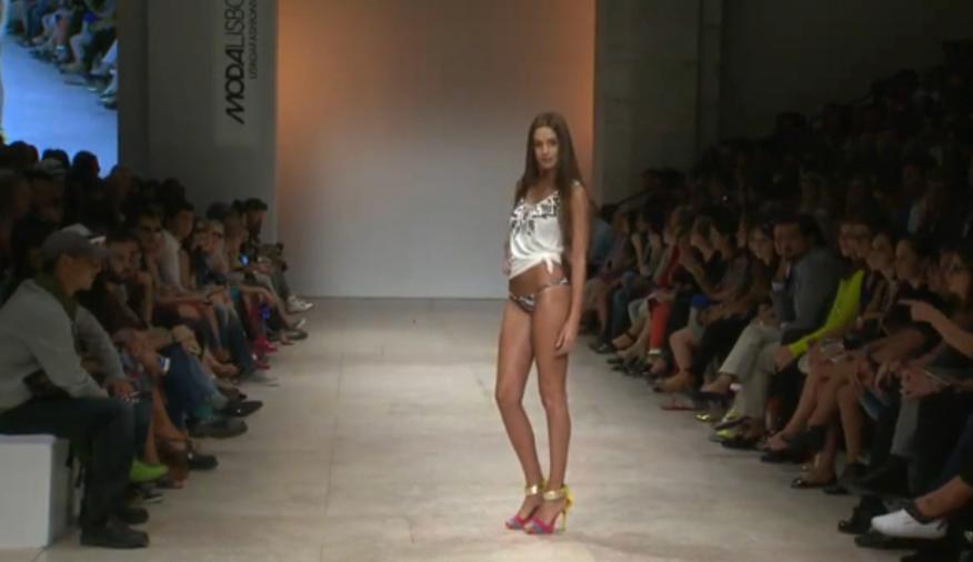 Iva%25202 Apresentadora De «Fama Show» Desfila Na Moda Lisboa (Com Fotos)