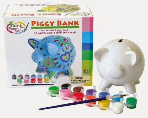 Bộ đồ chơi tô tượng Chú lợn tiết kiệm
