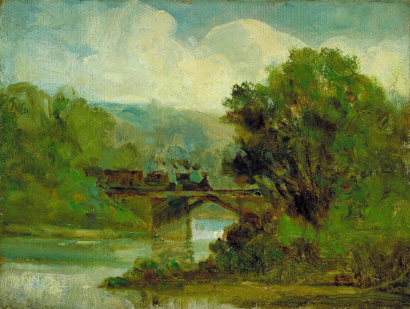 Edward Mitchell Bannister - Train