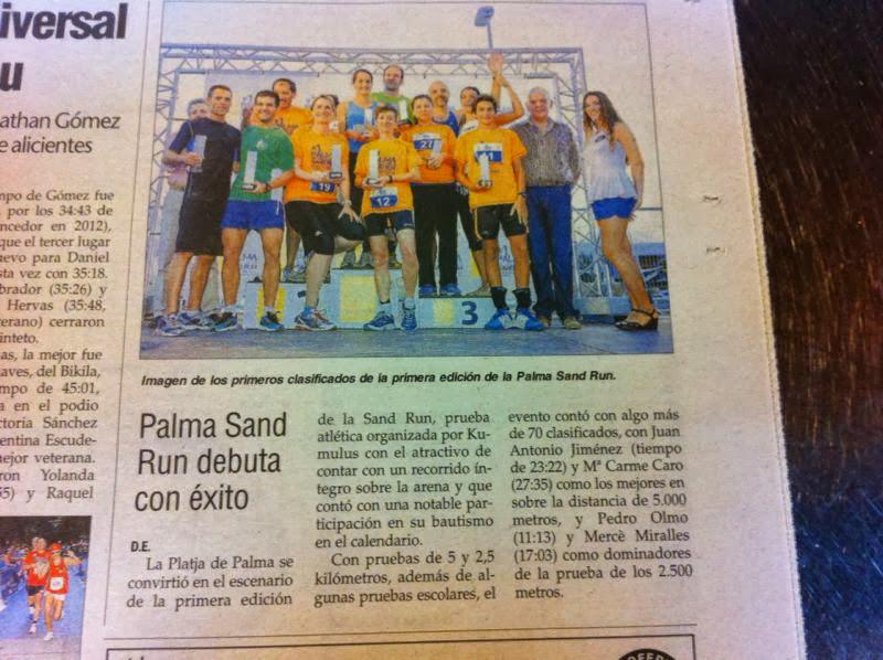 Palma sun and run