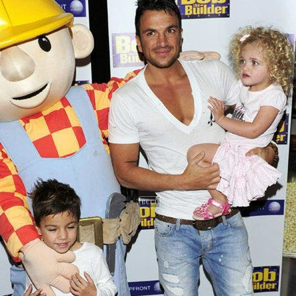 Peter Andre's kids in happier times. Peter was married to Katie Price. Peter Andre says his biggest regret is his broken marriage to Katie Price.