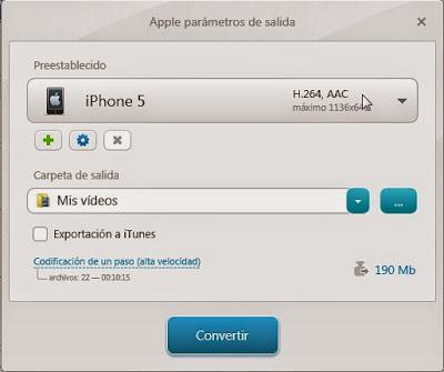 Formato iphone 5