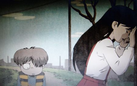 鬼太郎と猫娘