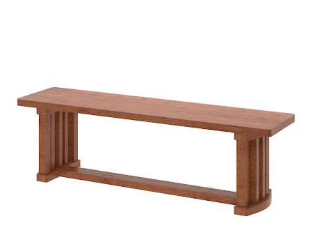 Urbana Bench in Itasca Maple