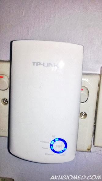 TP-Link wireless Wifi Extender TL-WA850RE