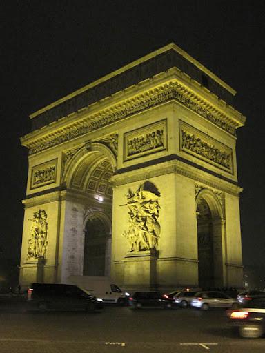 凱旋門@パリ